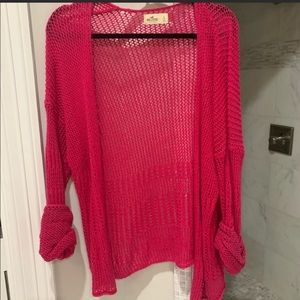 Hollister chunky knit sweater